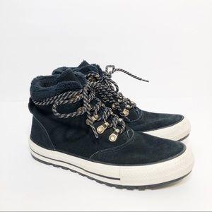 Converse Ember Boot Hi Shoes Black/Egret 557935C